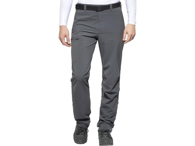 Maier Sports Nil Pantalon retroussable Homme, graphite